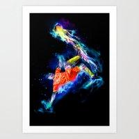 Spirit - Soccer Art Print