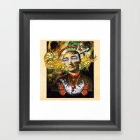 The Living God Framed Art Print