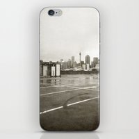 { rain dance } iPhone & iPod Skin