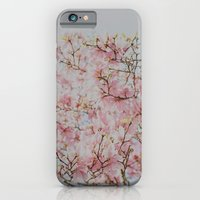 iPhone & iPod Case featuring Pink Magnolias by Hello Twiggs