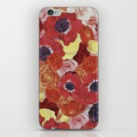 Vintage Floral Collage iPhone & iPod Skin