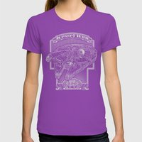 Kessel Run Womens Fitted Tee Ultraviolet SMALL