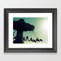 Joy Ride Framed Art Print