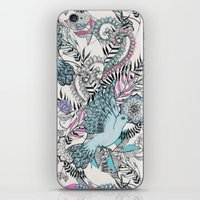 Flight Of Fancy - Pink, … iPhone & iPod Skin