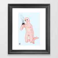 And Still It Burns Framed Art Print