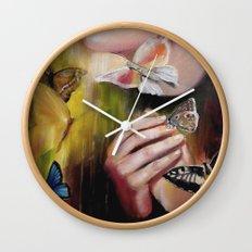 Fragile Flight Wall Clock