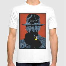 The Usual suspects White Mens Fitted Tee SMALL