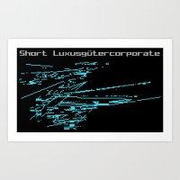 Short Luxusgütercorpora… Art Print