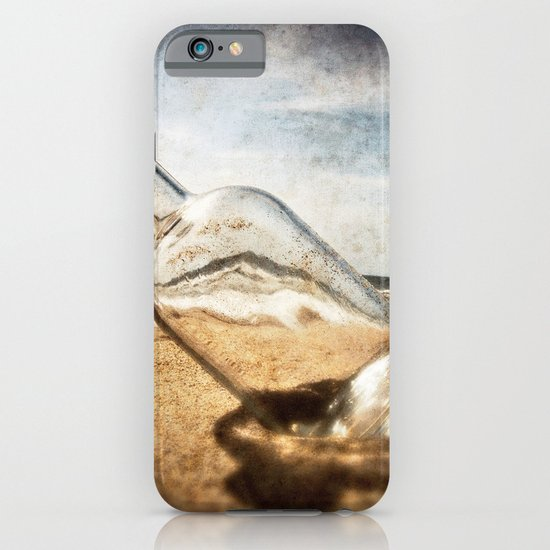 Bottle On Beach II iPhone & iPod Case