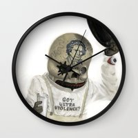 Clockwork Calavera Wall Clock
