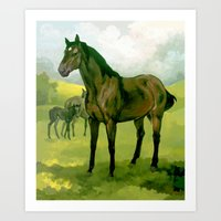 Sound Reason (CAN) - Thoroughbred Stallion Art Print