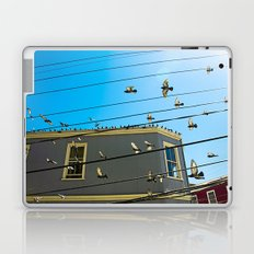Doves and Wire#3 Laptop & iPad Skin