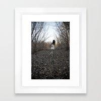 Forgive Us Our Trespasses. Framed Art Print