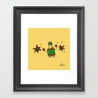 Soy Sauce & Anise Framed Art Print