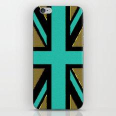 Glittery Union Jack iPhone & iPod Skin