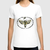 Melancholic Womens Fitted Tee White SMALL