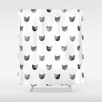 Cat! Shower Curtain