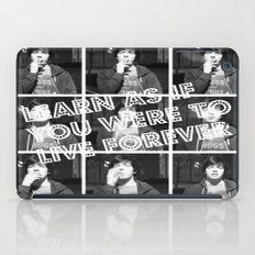 Live Forever  iPad Case