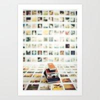 Polaroid Wall Art Print