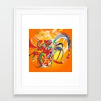 To The Rescue Framed Art Print