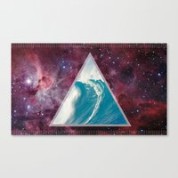 Spacial Crest Canvas Print