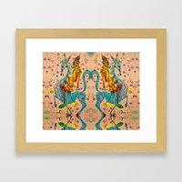 El Don Framed Art Print