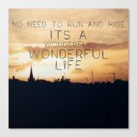 It's A Wonderful Life Canvas Print