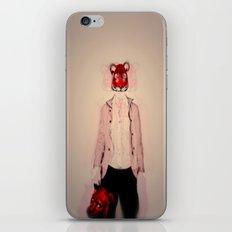 tiger vs bear iPhone & iPod Skin