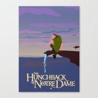 Hunchback of Notre Dame Canvas Print