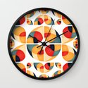 Fantasy Garden Pattern II Wall Clock