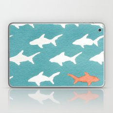 Splashy Sharks Laptop & iPad Skin