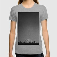 Mt. Rainier Womens Fitted Tee Athletic Grey SMALL