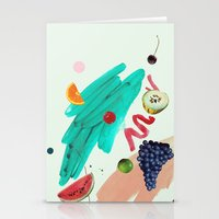WINTER TROPICAL Stationery Cards