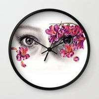 This Night Has Opened My… Wall Clock