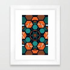 Pattern 5 Framed Art Print