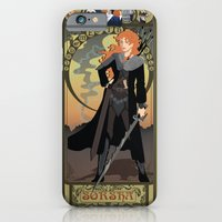 iPhone & iPod Case featuring Sorsha Nouveau - Willow by CaptainLaserBeam