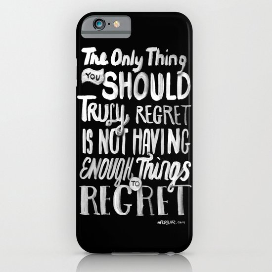 TRULY REGRET iPhone & iPod Case