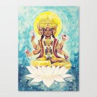Creation, Brahma Canvas Print
