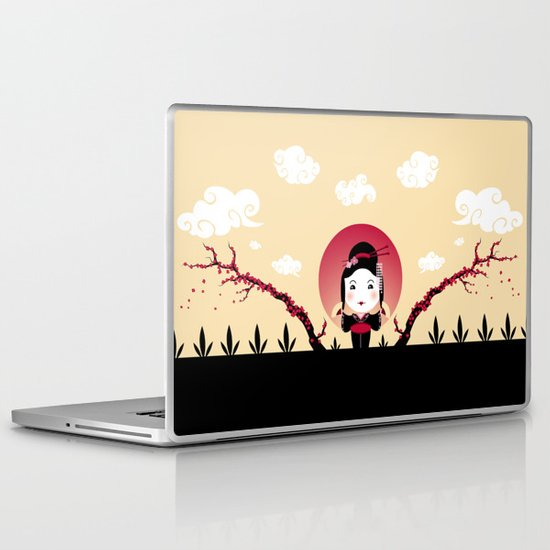 Geisha2 Laptop & iPad Skin