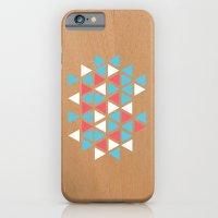 Triangle/wood iPhone 6 Slim Case