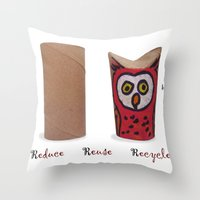 3R Throw Pillow