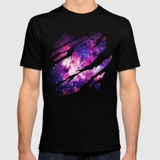 Deep Space Inside Mens Fitted Tee Black SMALL