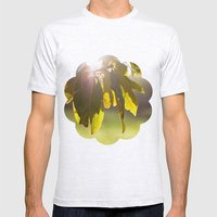 leaves at sunset Mens Fitted Tee Ash Grey SMALL