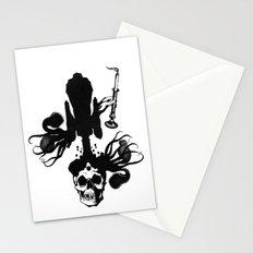 Flesh, Bone, Blood, Love Stationery Cards
