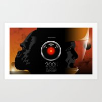 2001 - A Space Odyssey Art Print