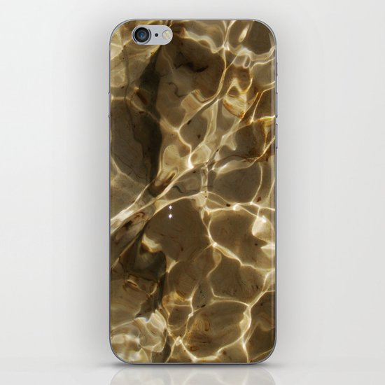 Water texture for iPhone iPhone & iPod Skin