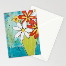 Spring Flowers Stationery Cards