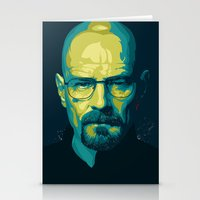 Breaking Bad Walter Whit… Stationery Cards