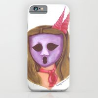 iPhone & iPod Case featuring The Ghostess Face from The Ghostesses of Caprice by Krissy P. Divina