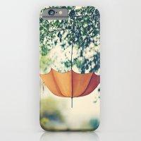 Orange Umbrella  iPhone 6 Slim Case